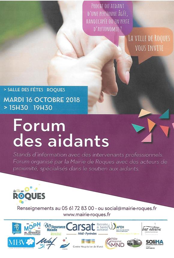 Forum des aidants 2018